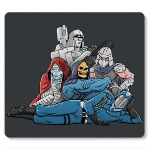 Mouse Pad Skeletor Mumm Ra - Loja Nerd e Geek - Presentes Criativos