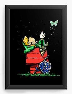 Quadro Decorativo A4 (33X24) Legend Of Elf - Loja Nerd e Geek - Presentes Criativos