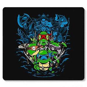 Mouse Pad Ninjas em Ação - Loja Nerd e Geek - Presentes Criativos