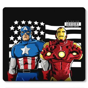Mouse Pad War Advisory - Loja Nerd e Geek - Presentes Criativos