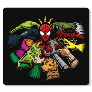 Mouse Pad Together Spider - Loja Nerd e Geek - Presentes Criativos