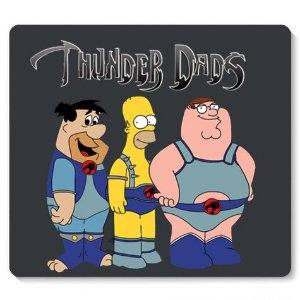 Mouse Pad Dads Cats - Loja Nerd e Geek - Presentes Criativos