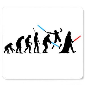 Mouse Pad Space Wars Evolution - Loja Nerd e Geek - Presentes Criativos