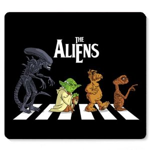 Mouse Pad The Aliens - Loja Nerd e Geek - Presentes Criativos