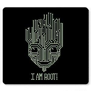 Mouse Pad I am Root - Loja Nerd e Geek - Presentes Criativos