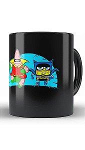 Caneca Batcave - Loja Nerd e Geek - Presentes Criativos