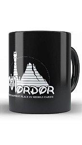 Caneca Mordor - Loja Nerd e Geek - Presentes Criativos
