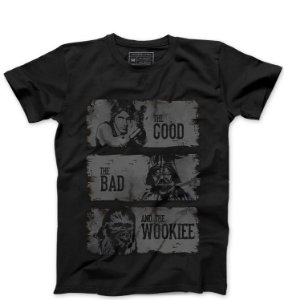 Camiseta Masculina The Good - Loja Nerd e Geek - Presentes Criativos