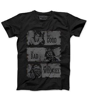 Camiseta Masculina The Good - Loja Nerd e Geek - Presentes Criativos