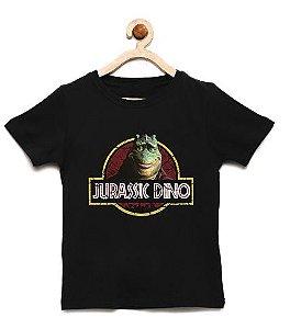 Camiseta Infantil Jurassic Dino - Loja Nerd e Geek - Presentes Criativos