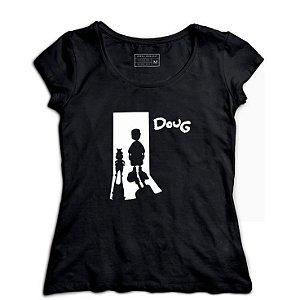 Camiseta Feminina Doug - Loja Nerd e Geek - Presentes Criativos