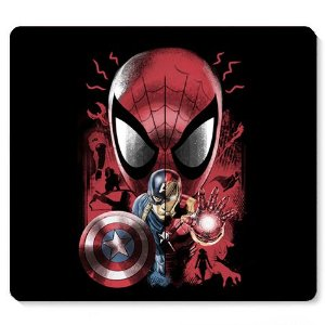 Mouse Pad Guerra Civil - Loja Nerd e Geek - Presentes Criativos