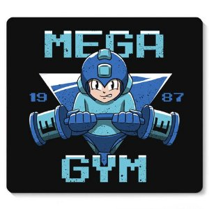 Mouse Pad Mega GYM - Loja Nerd e Geek - Presentes Criativos