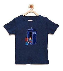 Camiseta Infantil Back To 8 Bits - Loja Nerd e Geek - Presentes Criativos