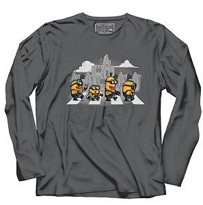 Camiseta Manga Longa Road - Loja Nerd e Geek - Presentes Criativos