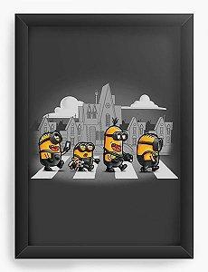 Quadro Decorativo A4 (33X24) Road - Loja Nerd e Geek - Presentes Criativos