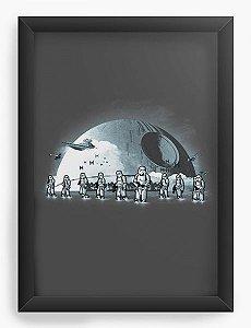 Quadro Decorativo A4 (33X24) Space Wars BeachTroapers - Loja Nerd e Geek - Presentes Criativos
