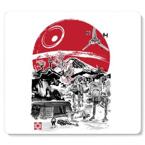 Mouse Pad Space Wars - Loja Nerd e Geek - Presentes Criativos