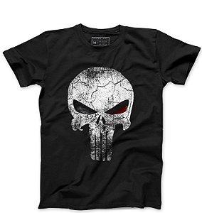 Camiseta Masculina Justiceiro - Loja Nerd e Geek - Presentes Criativos