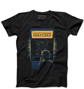 Camiseta Masculina Arcade - Loja Nerd e Geek - Presentes Criativos