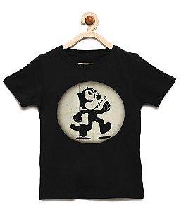 Camiseta Infantil Cat - Loja Nerd e Geek - Presentes Criativos