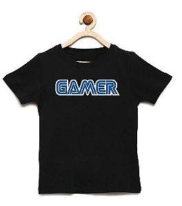 Camiseta Infantil Gamer - Loja Nerd e Geek - Presentes Criativos