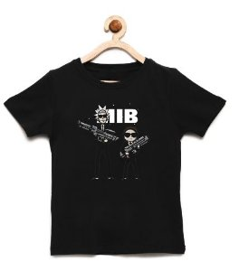 Camiseta Infantil MIB - Loja Nerd e Geek - Presentes Criativos