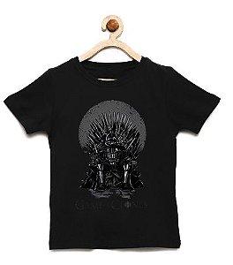 Camiseta Infantil Game of Clones - Loja Nerd e Geek - Presentes Criativos