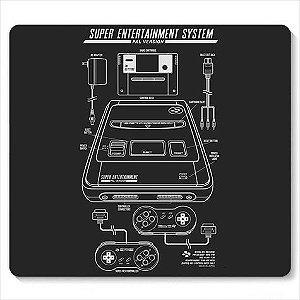 Mouse Pad Super Entertainment - Loja Nerd e Geek - Presentes Criativos