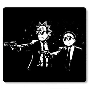 Mouse Pad Rick Fiction- Loja Nerd e Geek - Presentes Criativos