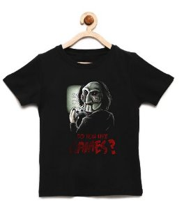Camiseta Infantil Like Games - Loja Nerd e Geek - Presentes Criativos