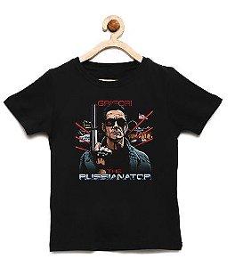 Camiseta Infantil Exterminador - Loja Nerd e Geek - Presentes Criativos