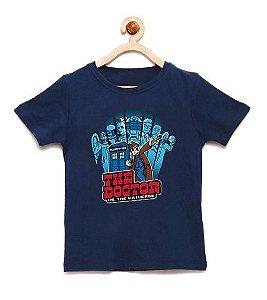 Camiseta Infantil The Doctor  - Loja Nerd e Geek - Presentes Criativos