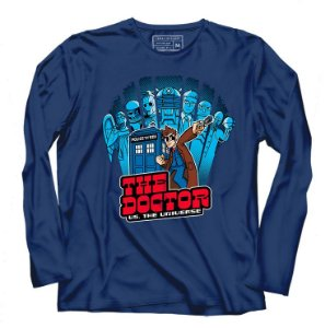 Camiseta Manga Longa The Doctor - Loja Nerd e Geek - Presentes Criativos