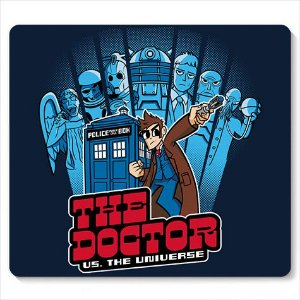 Mouse Pad The Doctor - Loja Nerd e Geek - Presentes Criativos