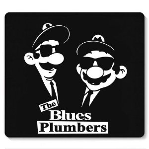 Mouse Pad The Plumbers - Loja Nerd e Geek - Presentes Criativos