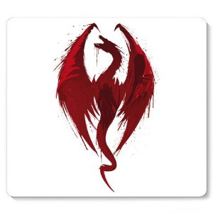 Mouse Pad Red Dragon - Loja Nerd e Geek - Presentes Criativos