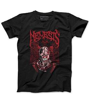 Camiseta Masculina Nemesis - Loja Nerd e Geek - Presentes Criativos