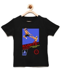 Camiseta Infantil Karate Kid - Loja Nerd e Geek - Presentes Criativos
