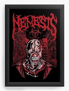 Quadro Decorativo A4 (33X24) Nemesis - Loja Nerd e Geek - Presentes Criativos