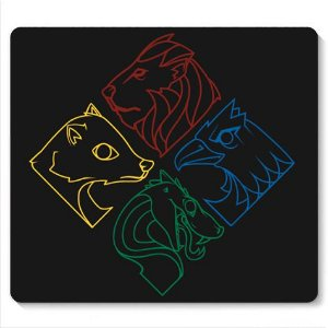 Mouse Pad Symbols - Loja Nerd e Geek - Presentes Criativos