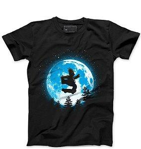 Camiseta Masculina Moon - Loja Nerd e Geek - Presentes Criativos