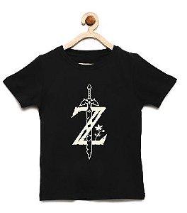Camiseta Infantil Z Spade - Loja Nerd e Geek - Presentes Criativos