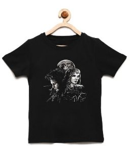 Camiseta Infantil Edward Maos de Tesoura - Loja Nerd e Geek - Presentes Criativos