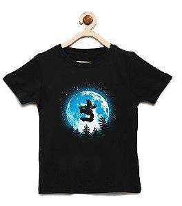 Camiseta Infantil Moon - Loja Nerd e Geek - Presentes Criativos