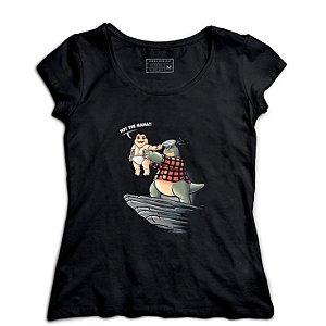 Camiseta Feminina Familia Dinossauros - Loja Nerd e Geek - Presentes Criativos
