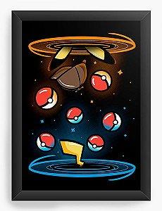 Quadro Decorativo A4 (33X24) Ball - Loja Nerd e Geek - Presentes Criativos