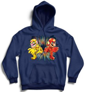 Moletom com Capuz Flash Bros - Loja Nerd e Geek - Presentes Criativos