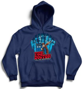 Moletom com Capuz The Doctor - Loja Nerd e Geek - Presentes Criativos
