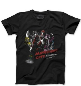 Camiseta Masculina Power Rangers - Loja Nerd e Geek - Presentes Criativos